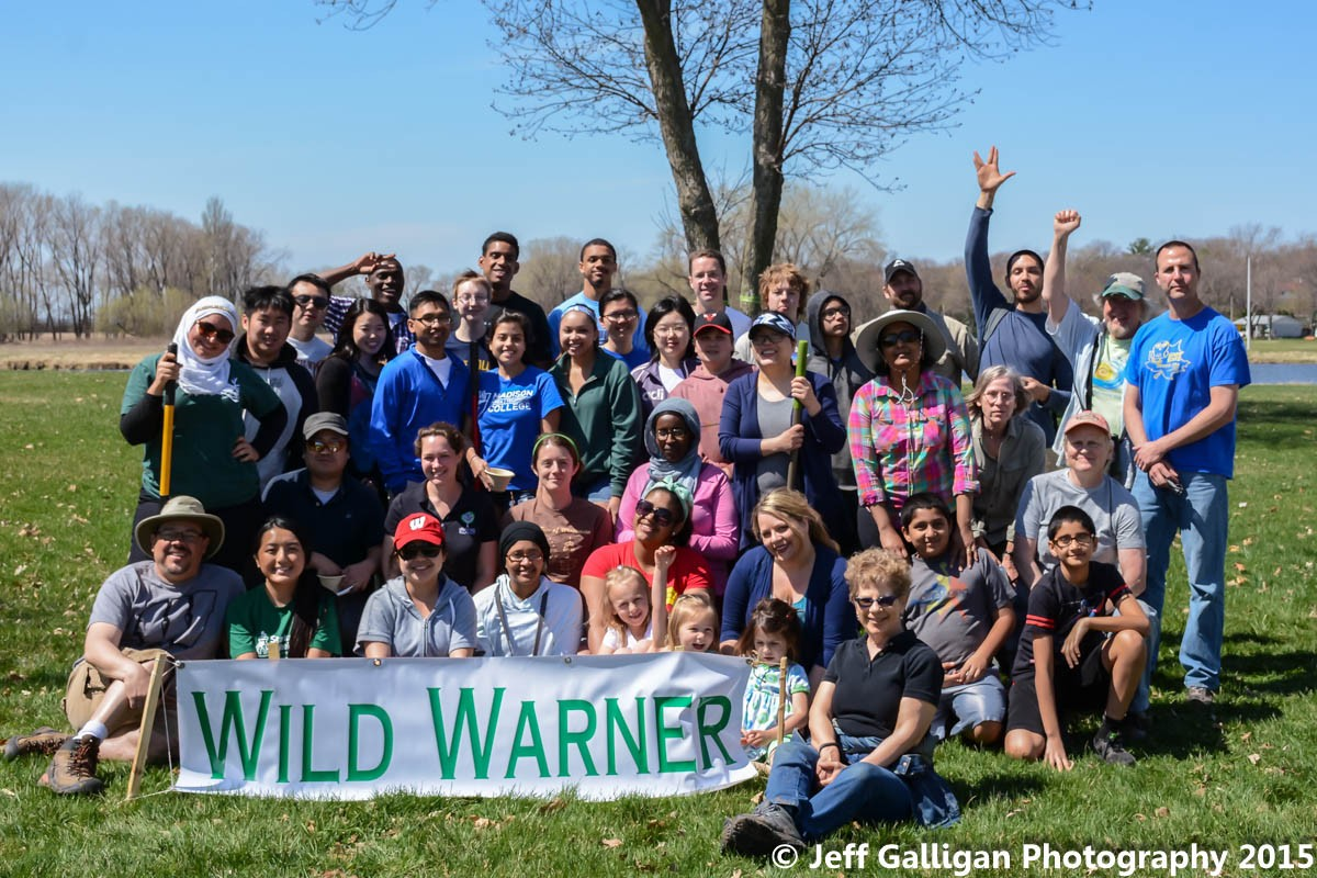 Wild Warner would love to give a BIG THANKS to all of the people that came out to help plant 30 TREES!!