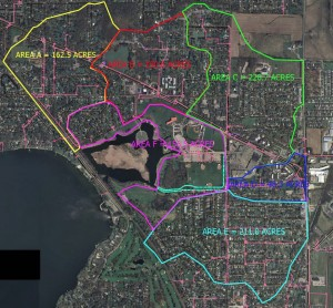 Nearly 1,000 acres of Madison's Northside drains into Lake Mendota through Warner Park, whose wetland acts as a screen and sponge. The result is a polluted and degraded wetland.